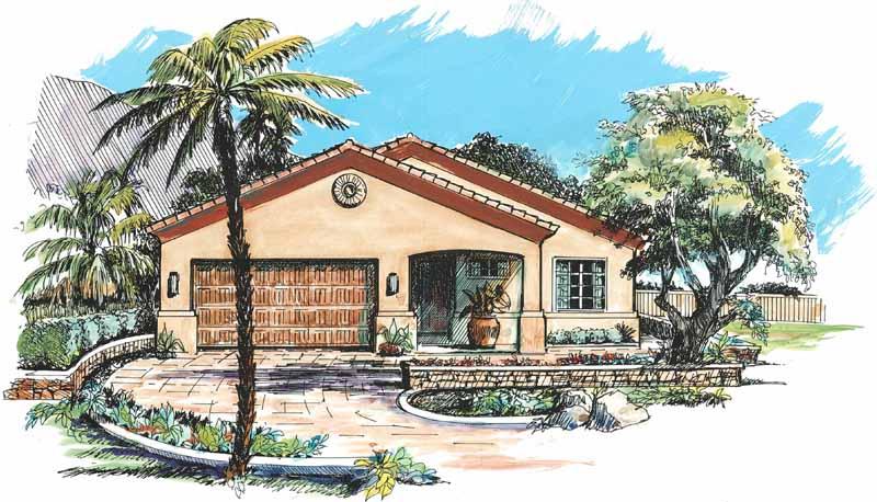 Southwestern Style House Plans Southwestern Style Homes